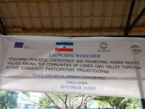 PDC Launched LOVaP Project in Jinka, South Omo.