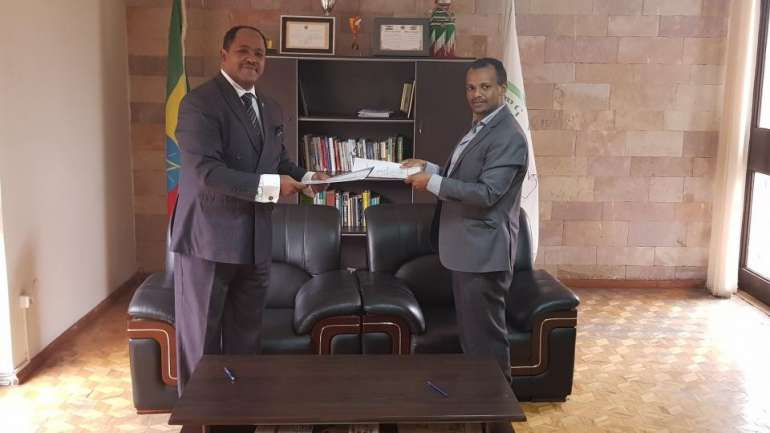 URI-Africa Signs Partnership Agreement with Peace and Development Center