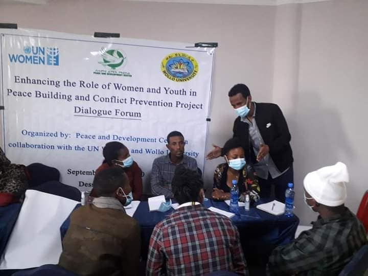 PDC Facilitated Public Dialogue at South Wollo Zone, Dessie city, in Collaboration with Wollo University