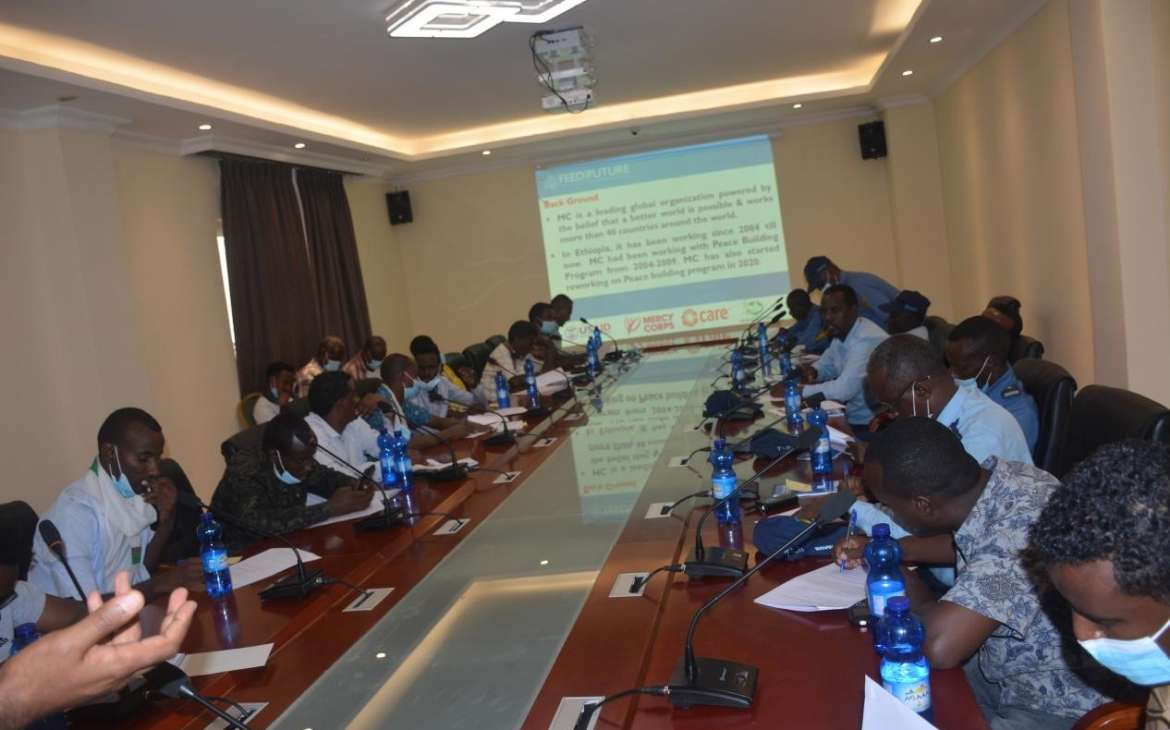Conflict Sensitive Decision-making training for Woreda,  head administrative and peace and security office in Oromia, Somali and Afar regional States, May 21-23/05/2021